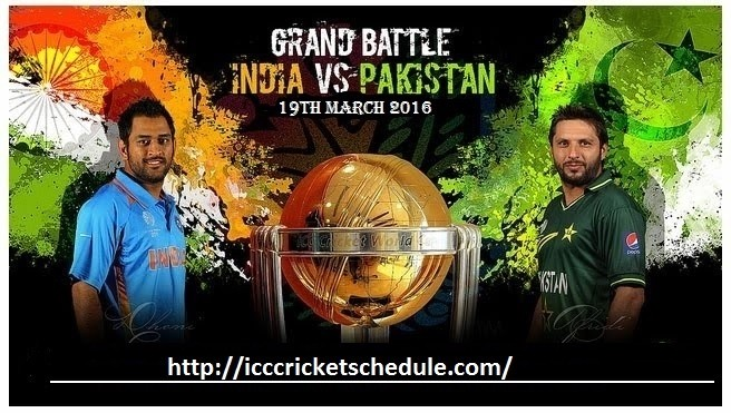 india vs pakistan t20 world cup 19th march 2016