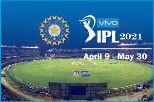 VIVO IPL 2021 Schedule from April 9 to May 30