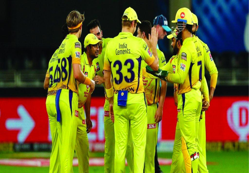 Chennai Super Kings Celebrating Wicket (CSK)