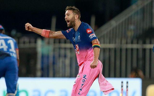 Andrew Tye (Rajasthan Royals, RR) IPL 2021 Auctions