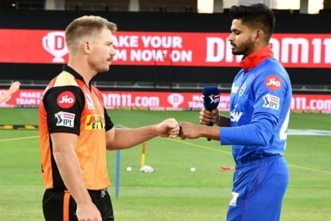 David Warner and Shreyas Iyer(SRH vs DC)