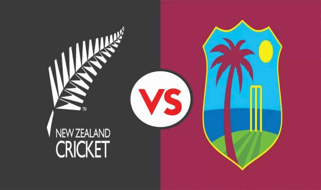 New Zealand announced 13 men Squad for T20I and Test against West Indies