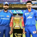 Rohit Sharma and Shreyas Iyer Mumbai Indians vs Delhi Capitals Final