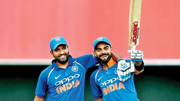 Rohit Sharma and Virat Kohli ||| Aakash Chopra on Rohit Sharma to take T20I Captaincy from Virat