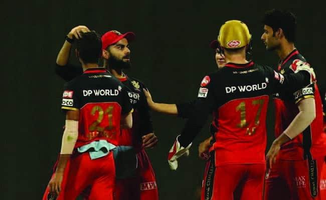 VIrat Kohli and RCB after wicket(DC vs RCB)