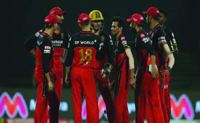Royal Challenger Bangalore(RCB) celebrating wicket.
