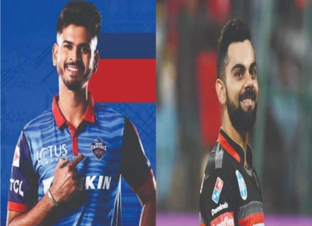 Shreyas Iyer and Virat Kohli(DC vs RCB)