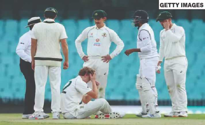 Australia vs India: Cameron Green ruled out of the tour game due to a concussion