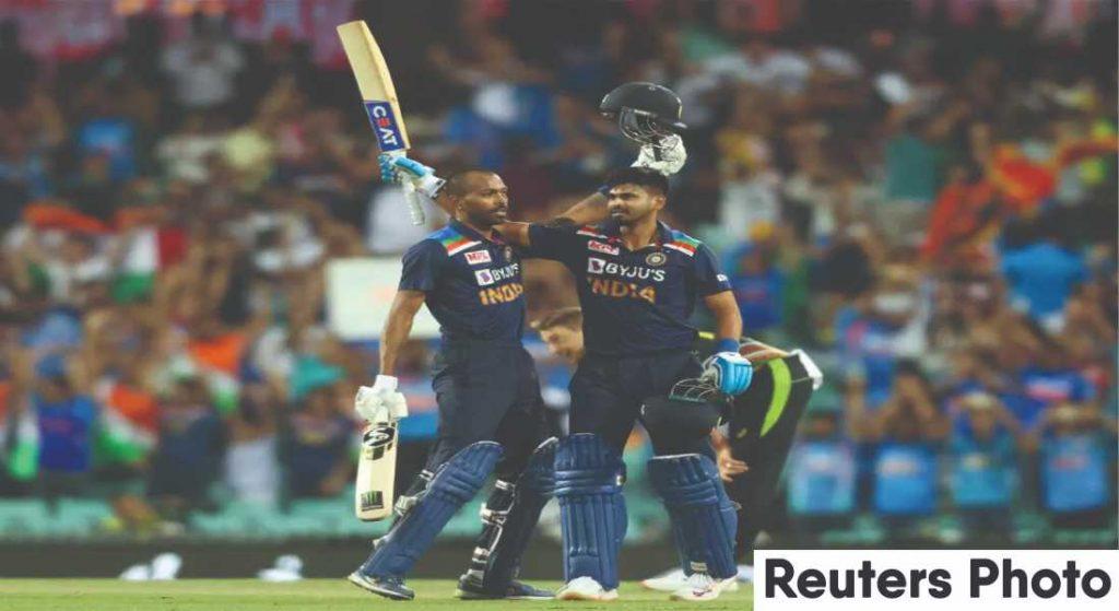 Hardik Pandya and Shikhar Dhawan power India to a series win against Australia