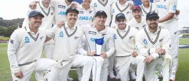 New Zealand defeated West Indies by an innings and 12 runs in 2nd Test