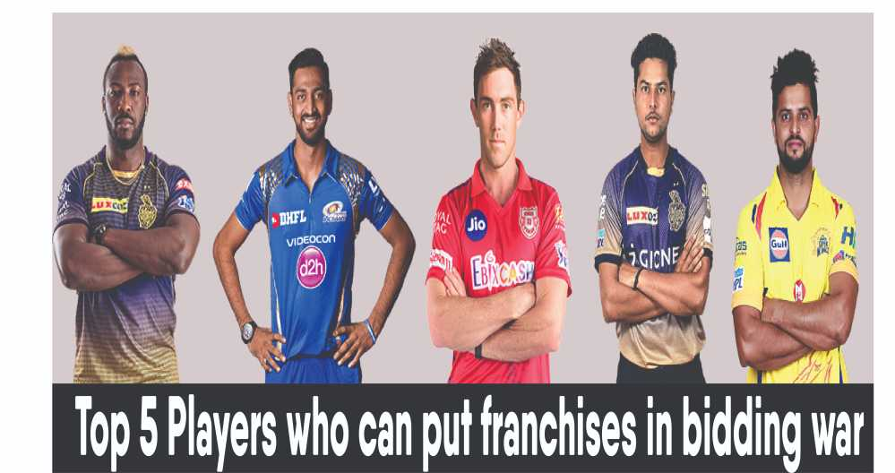 5 Cricketers who will put Franchises to Bidding War in IPL 2021