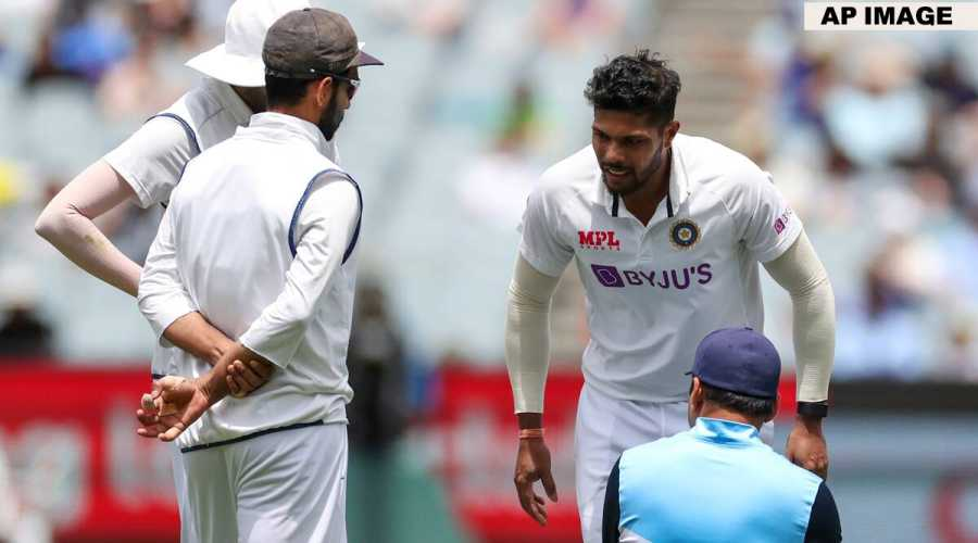 Australia vs India: Umesh Yadav ruled out, Shardul Thakur likely to replace him