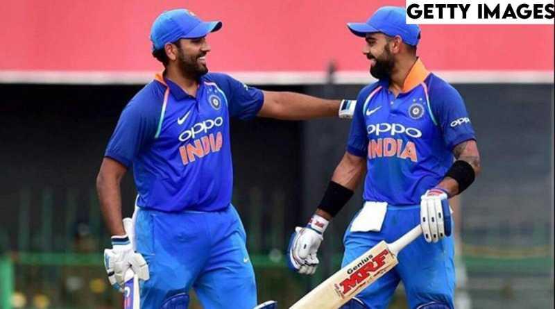 ICC ODI Men's ODI Rankings, Virat Kohli and Rohit Sharma retains top spots