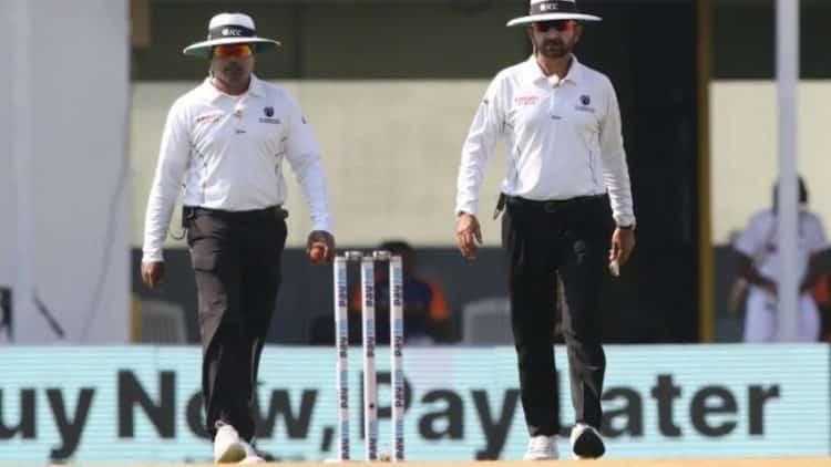 Nitin Menon consistently kept Indian Umpires Flag high throughout India-England Test Series