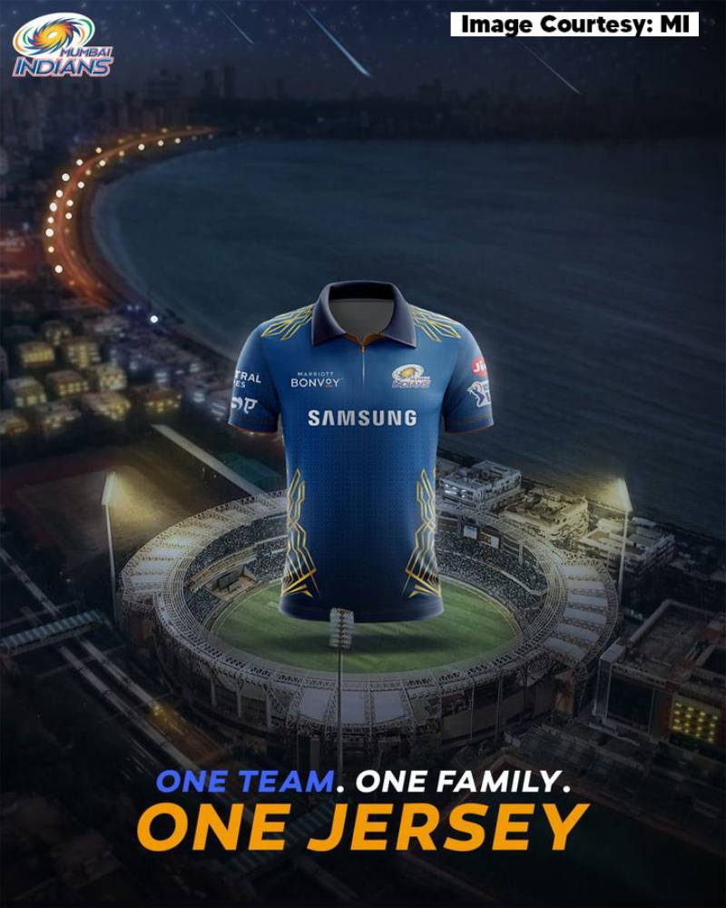 Vivo IPL 2021: Mumbai Indians unveils their jersey for the upcoming Vivo IPL 2021