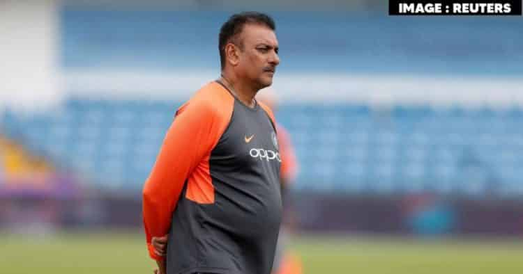 India coach Ravi Shastri takes the shot of Covid-19 vaccine in Ahmedabad