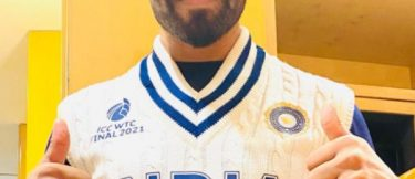Here is the glimpse of Team India's retro jersey for ICC World Test Championship final