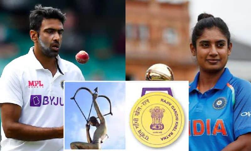 BCCI advanced names of R Ashwin and Mithali Raj for Khel Ratna, Bumrah for Arjuna Award