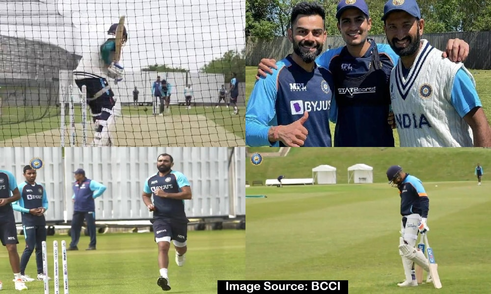 ICC WTC: Team India's first group training session ahead of WTC final, see pictures