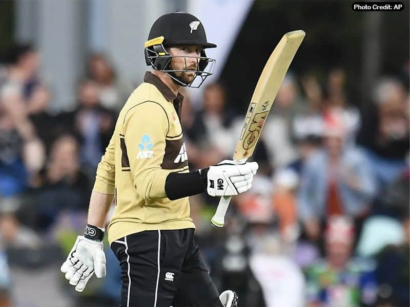 Devon Conway in T20Is for New Zealand against Australia 2021
