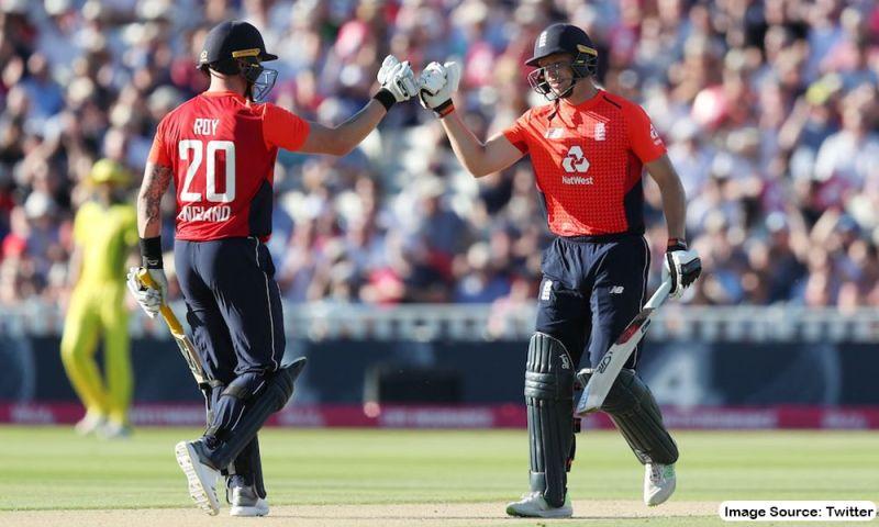 Jason Roy and Jos Buttler, England's T20I
