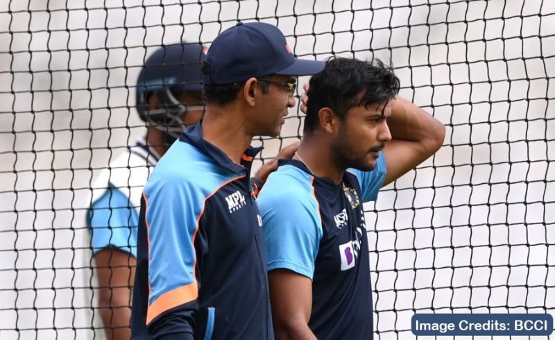 ENGvsIND: Opener Mayank Agarwal ruled out of first England vs India test match