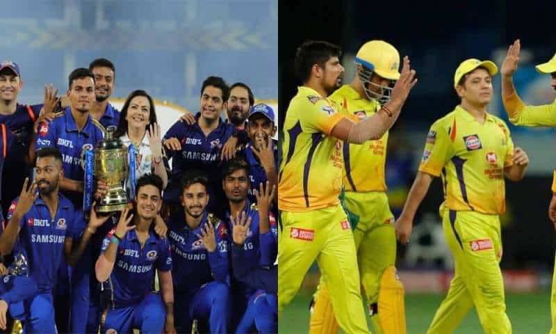 Vivo IPL 2021: Mumbai Indians (MI) and Chennai Super Kings (CSK) departed for the UAE