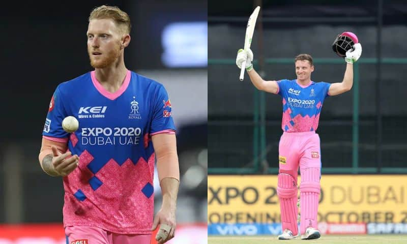 Vivo IPL 2021: Ben Stokes and Jos Buttler officially ruled out of the Vivo IPL 2021 in the UAE