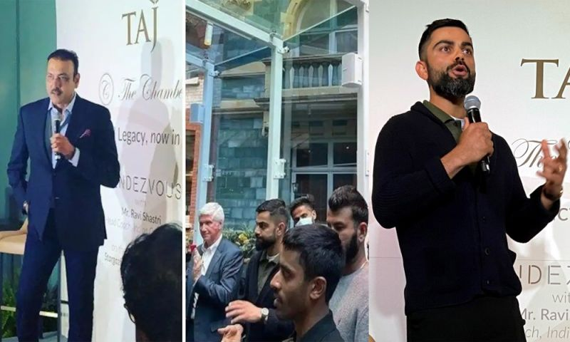 Team India attended a book launch event in London ahead of the fourth test match at Oval.
